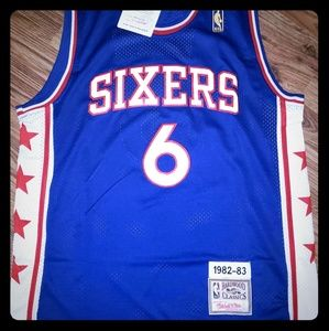 Julius Erving Philadelphia 76'ers Throwback Jersey